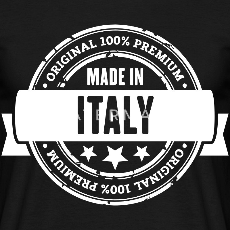 Made in Italy T-Shirts - Männer T-Shirt