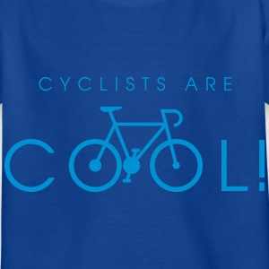 cyclists_are_cool_09_2016 T-Shirts - Kinder T-Shirt