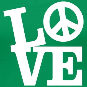 Love - Peace T-shirts - Vrouwen Premium T-shirt