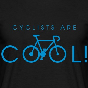 cyclists_are_cool_09_2016 T-Shirts - Männer T-Shirt