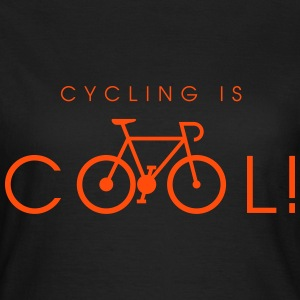 cycling_is_cool_09_2016 T-Shirts - Frauen T-Shirt