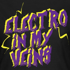 Electro in my veins - Vrouwen T-shirt