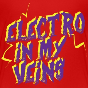 Electro in my veins - Teenager Premium T-shirt