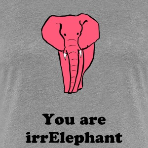 Irelephant shirt - Women's Premium T-Shirt