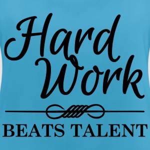 Hard work beats talent Vêtements Sport - Débardeur respirant Femme