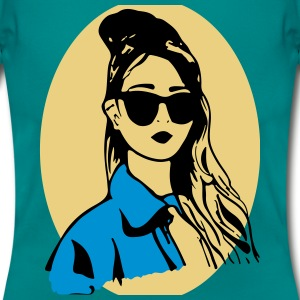 girl illustration t-shirt - Women's T-Shirt