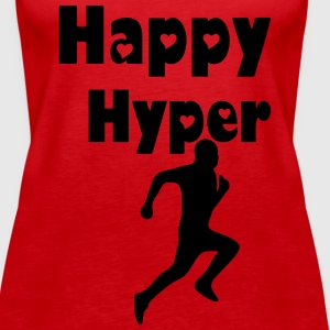 Happy Hyper Tops - Frauen Premium Tank Top