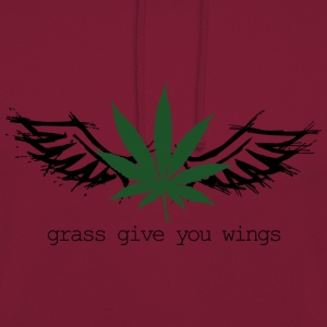 Grass give you wings Hoodies & Sweatshirts - Unisex Hoodie