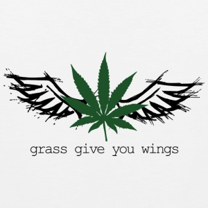 Grass give you wings Sports wear - Men's Premium Tank Top