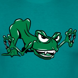 Monster funny frog T-Shirts - Men's T-Shirt