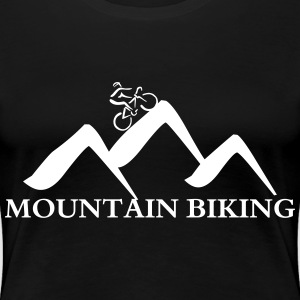 Mountain biking  T-Shirts - Frauen Premium T-Shirt