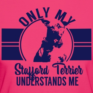 Stafford Terrier T-shirts - Organic damer