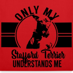 Only my Stafford Terrier Bags & Backpacks - Tote Bag