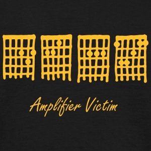 Deaf by Amplifier, Amplifier Victim - Men's T-Shirt