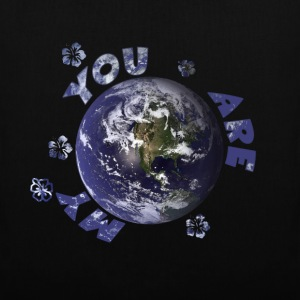 You Are My World Bags & Backpacks - Tote Bag