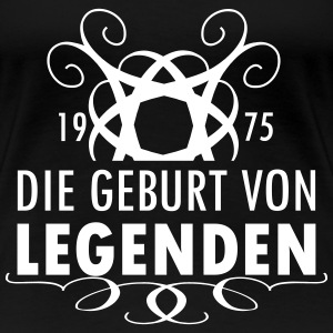 Legenden 1975-3 T-Shirts - Frauen Premium T-Shirt
