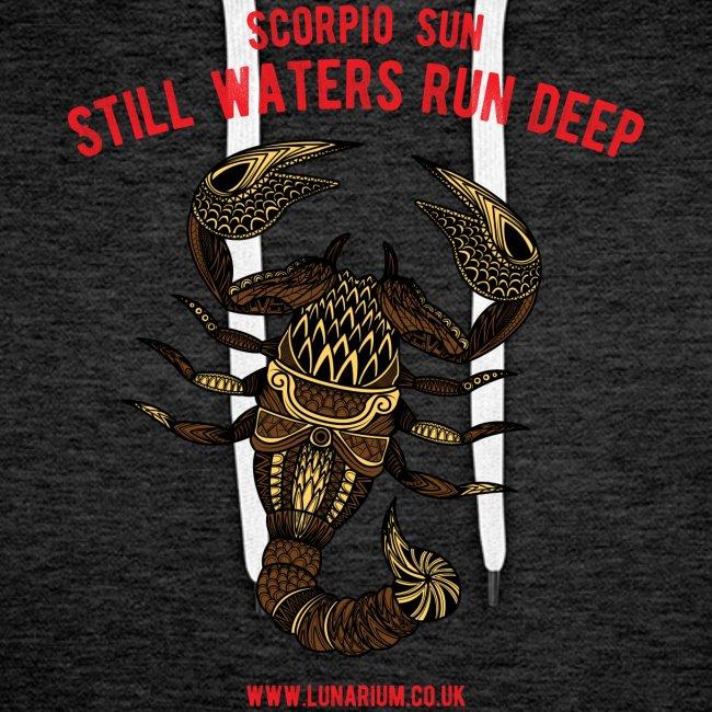 Scorpio Sun Men's Premium Hoodie