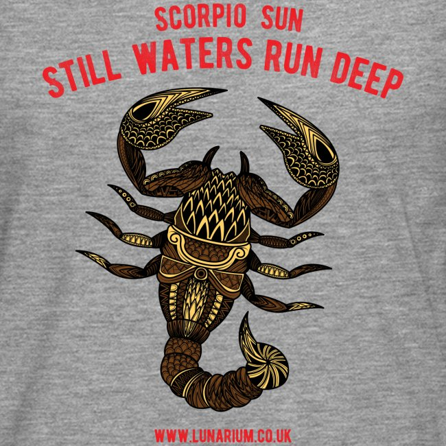 Scorpio Sun Men's Premium Long-sleeve T-Shirt