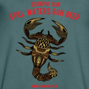 Scorpio Sun Men's V-Neck T-Shirt  - Men's V-Neck T-Shirt
