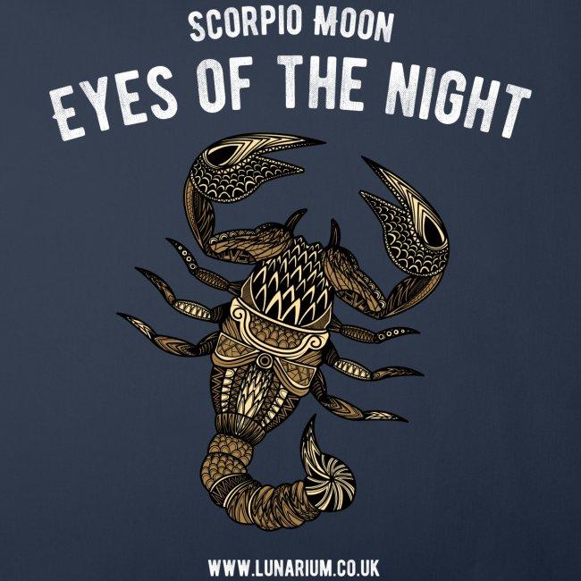 Scorpio Moon Sofa pillow cover 44 x 44 cm