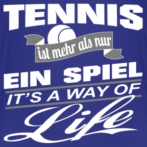Tennis-It's a way of life-Teenager Premium T-Shirt - Teenager Premium T-Shirt