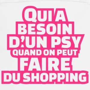 Qui a besoin d'un psy quand on peut faire shopping Tabliers - Tablier de cuisine