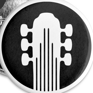 Guitarist badge! - Buttons small 25 mm