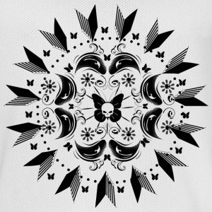 Butterflies with skull mandala Sports wear - Men's Basketball Jersey