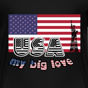 Big Love USA T-Shirts - Kinder Premium T-Shirt