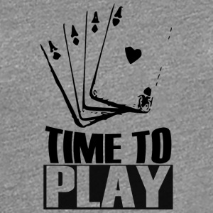 TIMETOPLAYCARDS T-Shirts - Frauen Premium T-Shirt
