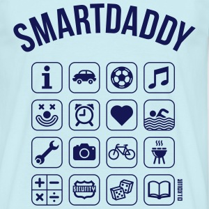 Smartdaddy (Daddy / Dad / SVG) T-Shirts - Men's T-Shirt