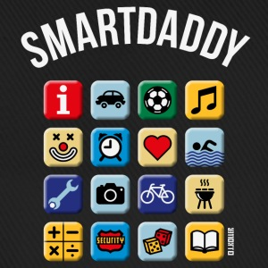 Smartdaddy (Daddy / Dad / NEG / PNG) Caps & Hats - Baseball Cap