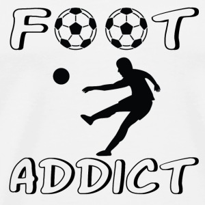 Foot addict_ Tee shirts - T-shirt Premium Homme