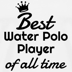 Water Polo / vattenpolo / pool / simning T-shirts - Premium-T-shirt herr