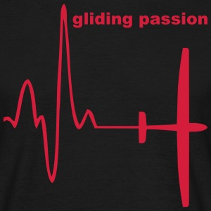 heartbeat gliding T-Shirts - Men's T-Shirt
