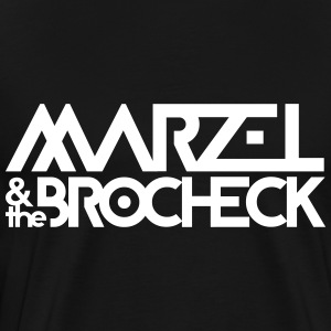 Marzel And The Brocheck T-Shirts - Männer Premium T-Shirt
