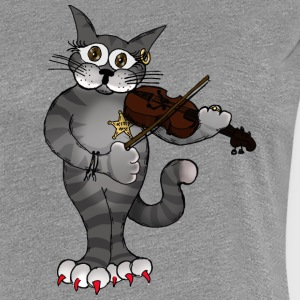 FiddleCat - Frauen Premium T-Shirt