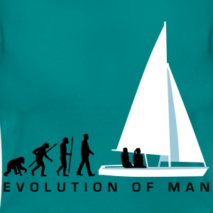 evolution_des_mannes_segelboot_a_3c T-Shirts - Frauen T-Shirt