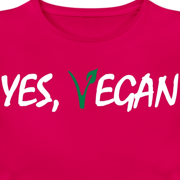 Yes, vegan - Frauen T-Shirt