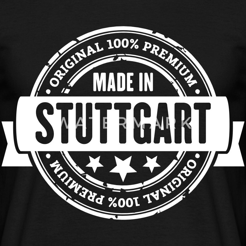 Made in Stuttgart T-Shirts - Männer T-Shirt
