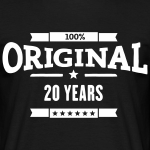 Original 20 Years T-Shirts - Männer T-Shirt