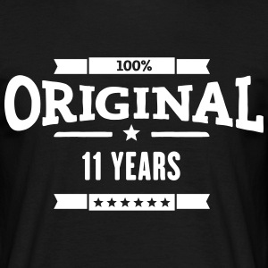 Original 11 Years T-Shirts - Männer T-Shirt