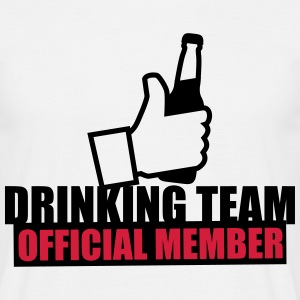 Drinking team crew official member - Männer T-Shirt