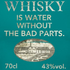Whisky is water, shabby chic T-shirts - Vrouwen T-shirt