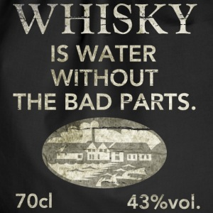 Whisky is water, shabby chic Bags & Backpacks - Drawstring Bag