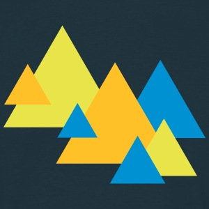 Triangle Landscape T-shirts - T-shirt herr