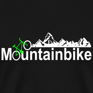 mountainbike T-Shirts - Men's Premium T-Shirt
