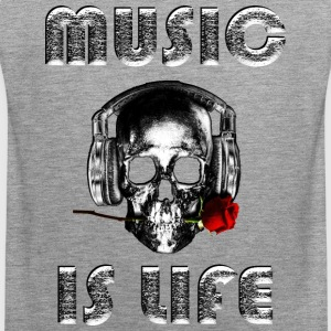 loud music - Tank top męski Premium