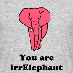 IrrElephant - Men's T-Shirt