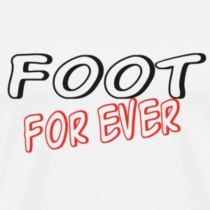 Foot for ever T-shirts - Herre premium T-shirt